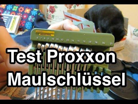 Test Proxxon Ring-Maulschlüsselsatz Slim Line 23821 | Maulschlüsselsatz Test | Maulschlüssel Test
