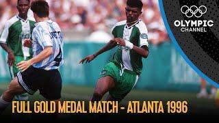 Nigeria vs. Argentina -  Full Men's Football Final   Atlanta 1996 Replays