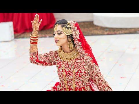 Beautiful Bridal Dance   Indian & Pakistani Wedding   Salaam   Deewani Mastani   #TailorMadeForReza