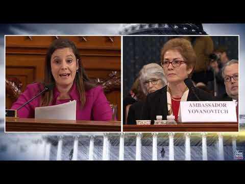 Stefanik Questions Ambassador Yavanovitch at Impeachment Hearing