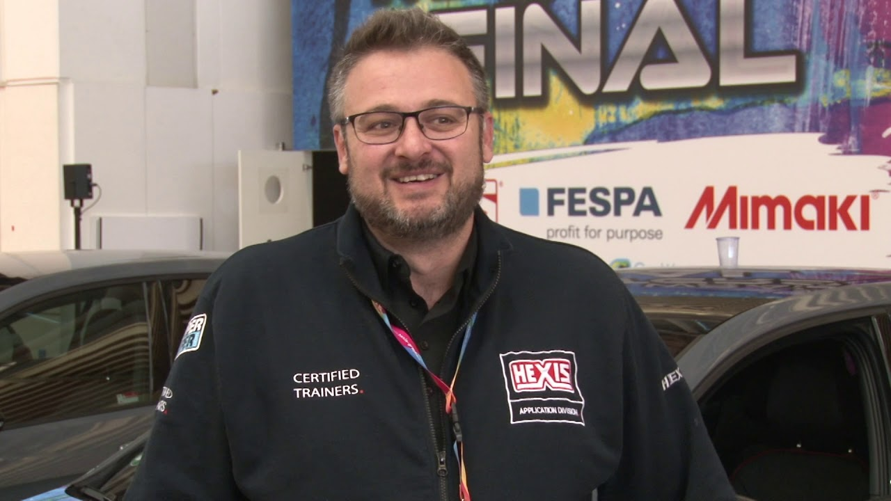 Rocco Zippo represented Hexis as a judge at the World Wrap Masters 2019 where competitors used Hexis' new 190EVO digital print vinyl. Rocco has over 10 years experience in the industry and has his own company in Switzerland.