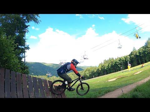 Bikepark Klíny červená 2021