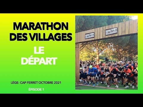 Départ du Marathon des Villages