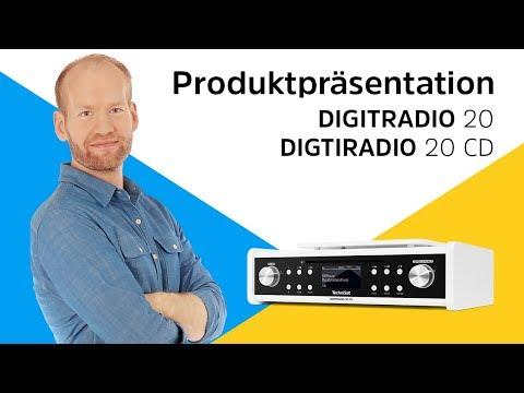 DIGITRADIO 20 / 20 CD   Unterbau-Digitalradio mit und ohne CD-Player.   TechniSat