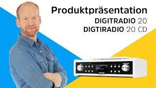 DIGITRADIO 20 / 20 CD | Unterbau-Digitalradio mit und ohne CD-Player. | TechniSat