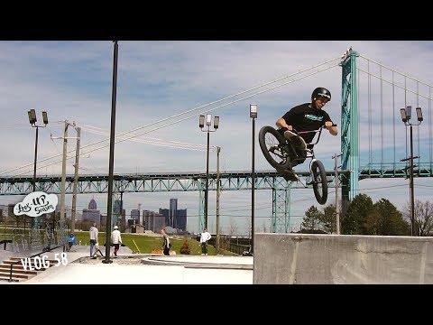New Detroit Riverfront skatepark!