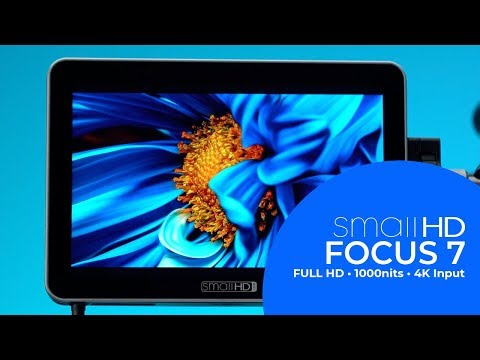 SmallHD FOCUS 7 | Full HD, 1000 nit bright Touchscreen Monitor