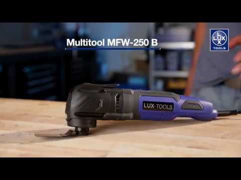Unser Multitool: LUX-TOOLS MFW-250 B