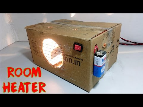 How To Make Room Heater At Home