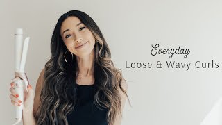 Everyday Loose And Wavy Curls