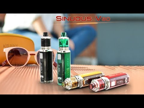 YouTube Video zu Wismec Sinuous V80 Akkuträger 80 Watt
