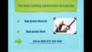 preview picture of video 'Roofing Lansing - (517) 258-2981'