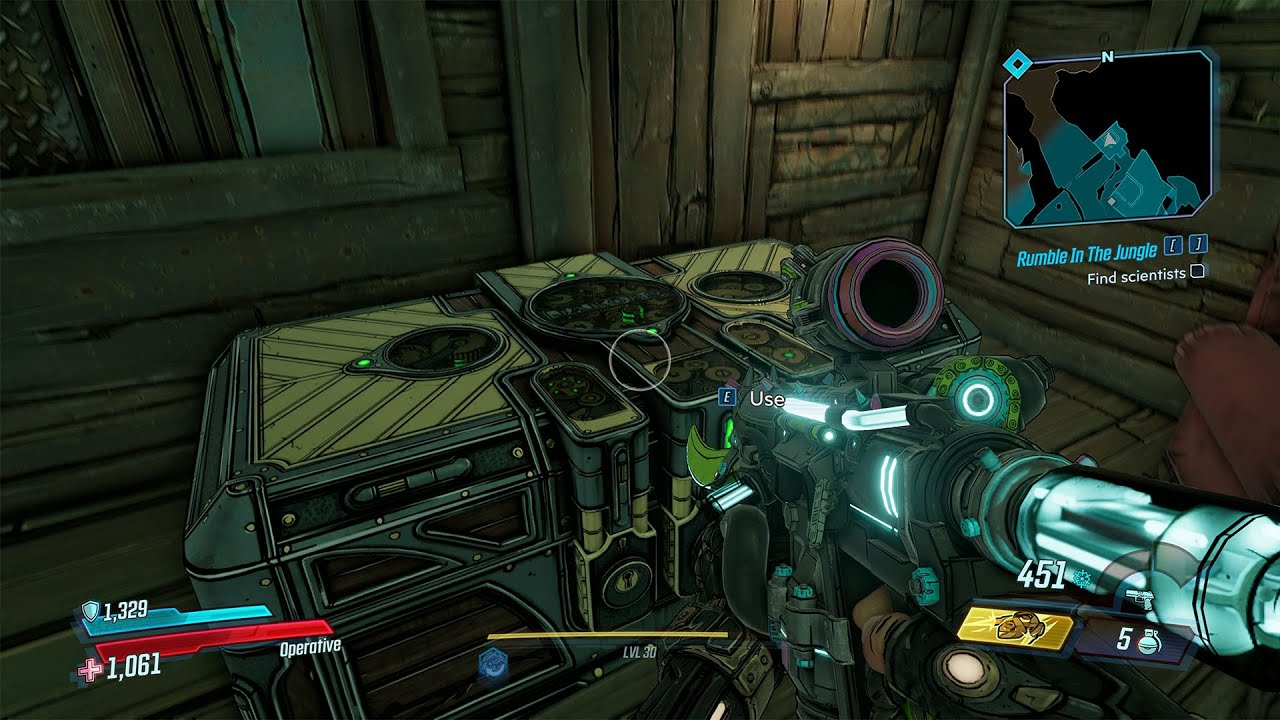 Video Voracious Canopy - Red Chest in Science Outpost Walkthrough