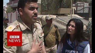 Battle for Mosul: residents begin the process of rebuilding the city - BBC News
