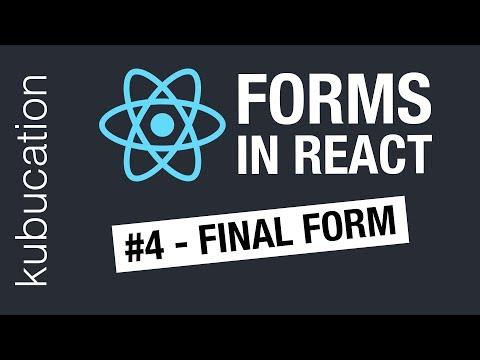Taming Forms in React - JARED PALMER - смотреть онлайн на