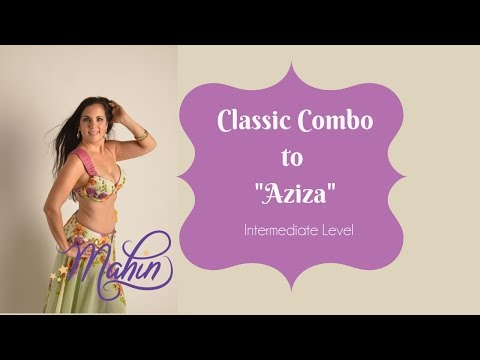 "⭐Belly Dance: Intermediate Combo for ""Aziza""⭐"