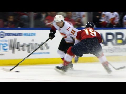 Backlund puts a slick move on Matheson