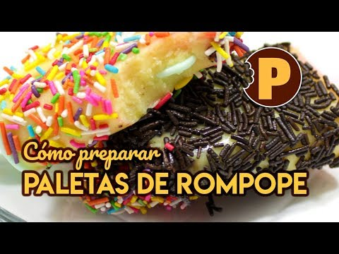 Vídeo Paletas de Rompope