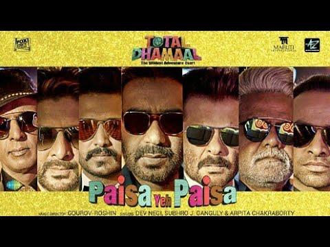 Total dhamaal paisa paisa paisa paisa full HD videos Ajay devgan sonakshi Sinha Anil Kapoor sonakshi
