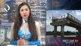 Cầu 6 tỉ vừa thông xe đã sập ngay trong đêm