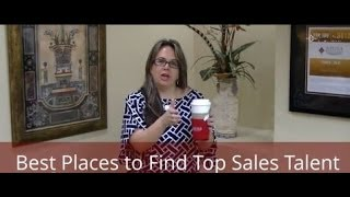 Where Are the Best Places to Find Top Salespeople?