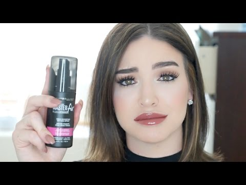 NEW! Maybelline Master Fix Makeup Setting Spray | Review