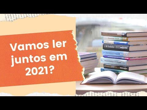 VAMOS LER JUNTOS EM 2021? ? | Biblioteca da Rô