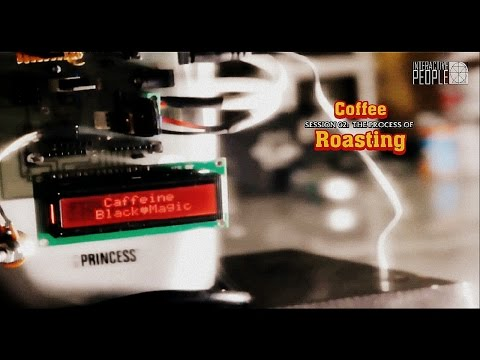 Low cost & fully automatics arduino coffee roaster : Caffeine Black Magic -  Final Project 2013