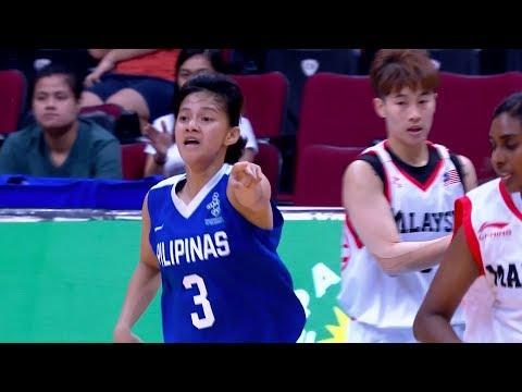 [Sport5]  Full Game: Philippines vs Malaysia | 5X5 Basketball W Prelim Round | 2019 SEA Games