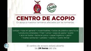 Sinaloa nos necesita, abren centros de acopio en la CDMX