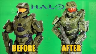 Jakks Pacific Halo Master Chief Figure Makeover- Chris' Custom Collectables