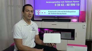 Telekom Speedport Smart 3  - WLAN Router für Telekom MagentaZuhause (DSL, VDSL oder Glasfaser)