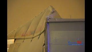 Rzeszów. Zawalił się dach hali przy dawnym Tesco!