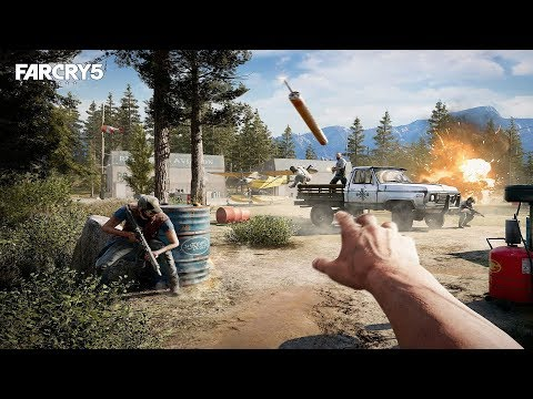 Far Cry 5 - Освобождаем Остров От Фанатиков! #2