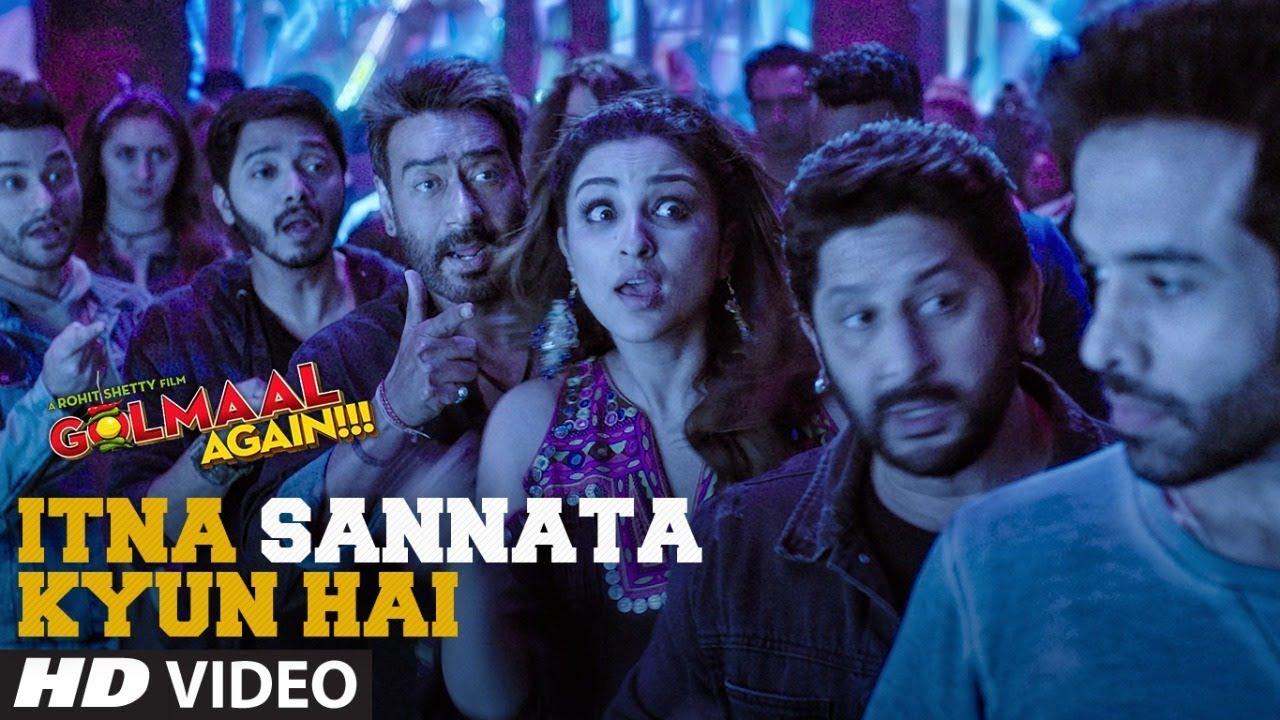 Itna Sannata Kyun Hai Video Song | Golmaal Again | Lijo-Dj Chetas | Amit Mishra, Aditi Singh Sharma  downoad full Hd Video