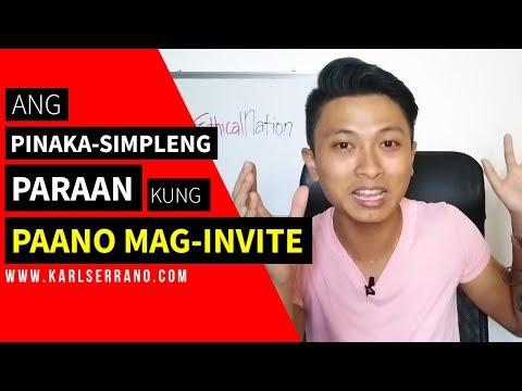Ang Pinaka Simpleng Paraan Kung Paano Mag Invite ng Prospect sa Networking