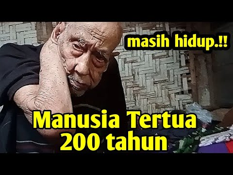 Manusia Tertua 200 Tahun ternyata Masih Hidup | Mbah Harjo Suwito