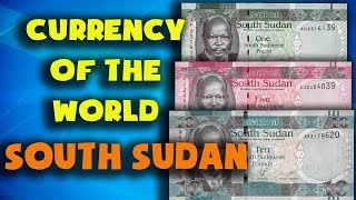 Currency of the world - South Sudan. South Sudanese pound. Exchange rates South Sudan