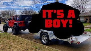 SURPRISE! We Reveal What We'll Be Towing With Our 2018 Jeep Wrangler JLU Rubicon!