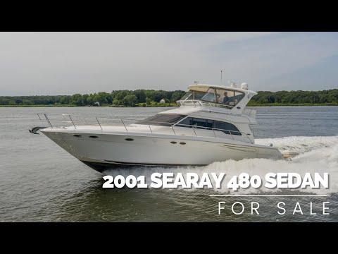 Sea Ray 480 Sedan Bridge video