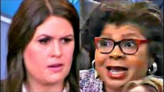 Sarah Sanders leaves reporters Flabbergasted when question on Trump