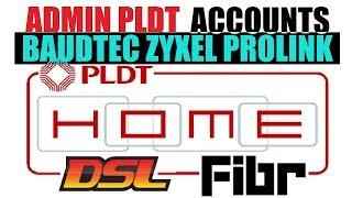 New adminpldt Password for ONU ZYXEL BAUDTEC pldthomefibr DSL modem routers working as OCTOBER 2018