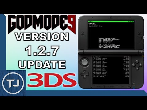 How to Use GodMode9 - 1 2 8 - to \