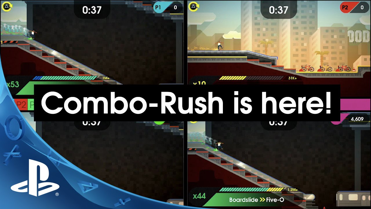 OlliOlli2 Gets Combo Rush, a 4-Player Local Multiplayer Mode, Today