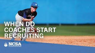 When Do Coaches Start Recruiting Athletes?