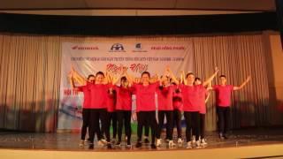 Dân Vũ- Flash Mob( THPT Trưng Vương Quy Nhơn ) Hội Thi An Toàn Giao Thông. - RED TEAM -