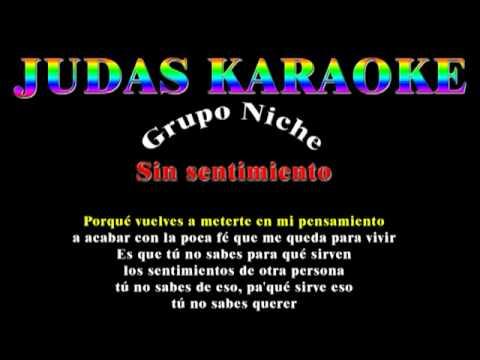 Sin sentimiento Grupo Niche