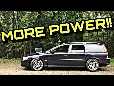Tuning Our M3 Killing Volvo V70R Made Me A Beliver - Stage 2 And Reaction Drive
