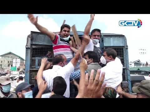 Police foil engineers' protest against abolition of SHG scheme