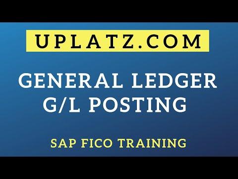 General Ledger (GL) Posting |SAP FICO Course|Uplatz